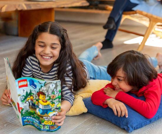 Free copies of Lego Magazine