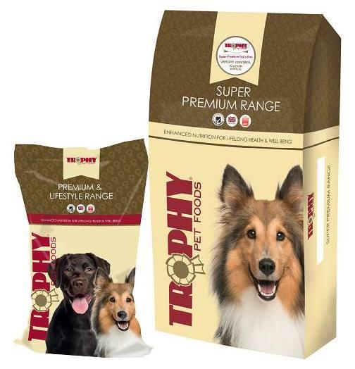 Free throphy pet food