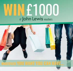 Win £1000 of John Lewis Vouchers - Prize - Competition