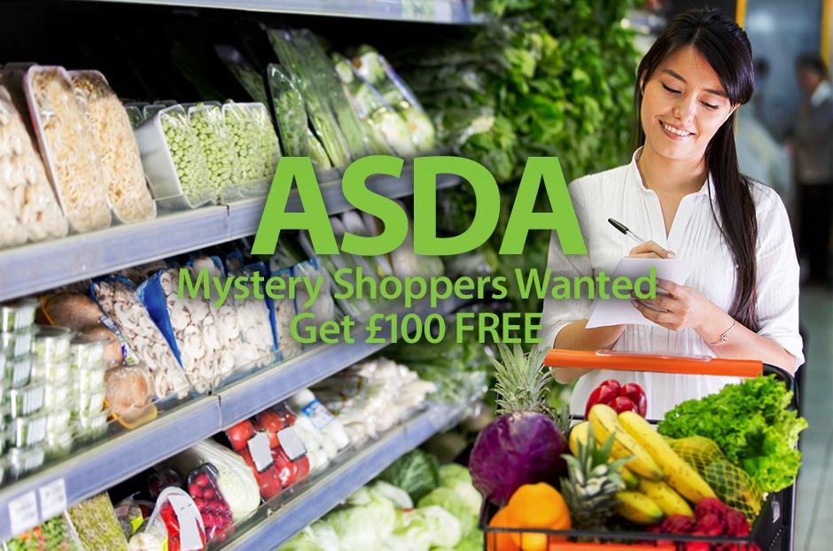 Asda Mystery Shopper