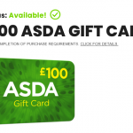 ASDA £100 GIFT CARD COULD BE YOURS!