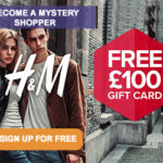 H&M MYSTERY SHOPPERS WANTED