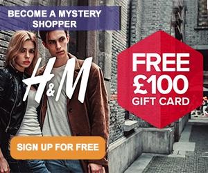 H&M Mystery Shopper Bag Free Stuff