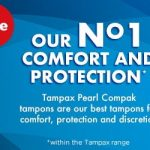 FREE BOX OF TAMPAX FROM SAINSBURY'S