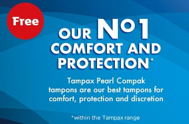 Free box of Tampax 01