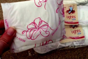 Free TENA Panty Liners