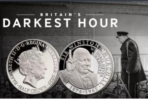 Churchill Darkest Hour Coin