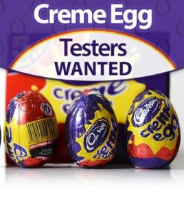 Creme Egg Testers Required