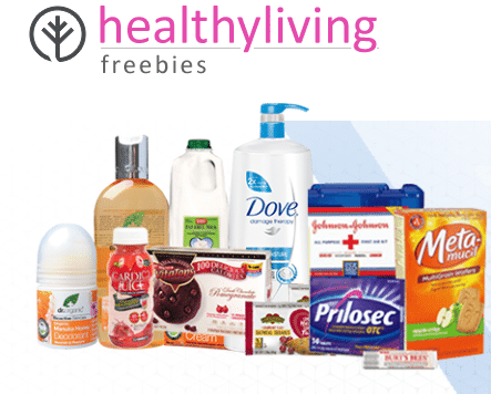 Healthy Living freebies Free samples