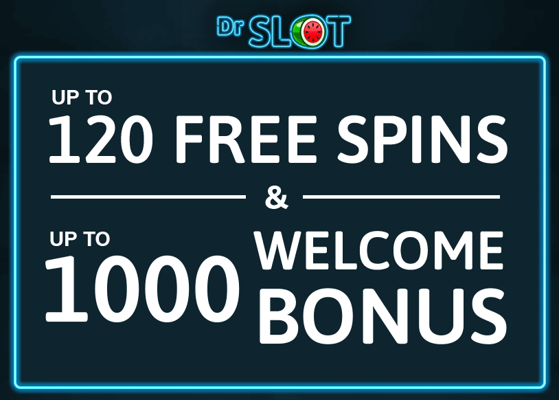 120 free spins and up to £1,000 welcome bonus