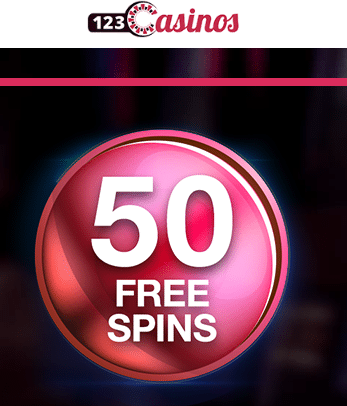 Exclusive 50 Free Spins 123Casinos