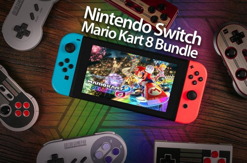 Test and Keep Nintendo Mario Kart 8 and bundle