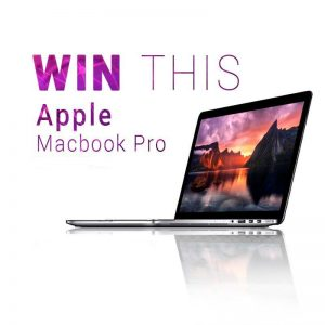 WIN A Macbook Pro