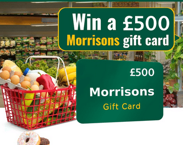 WIN a £500 Morrisons Gift Card