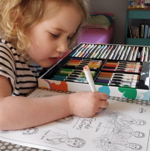 Free Colouring & Activity sheet