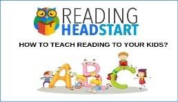 Headstart reading banner