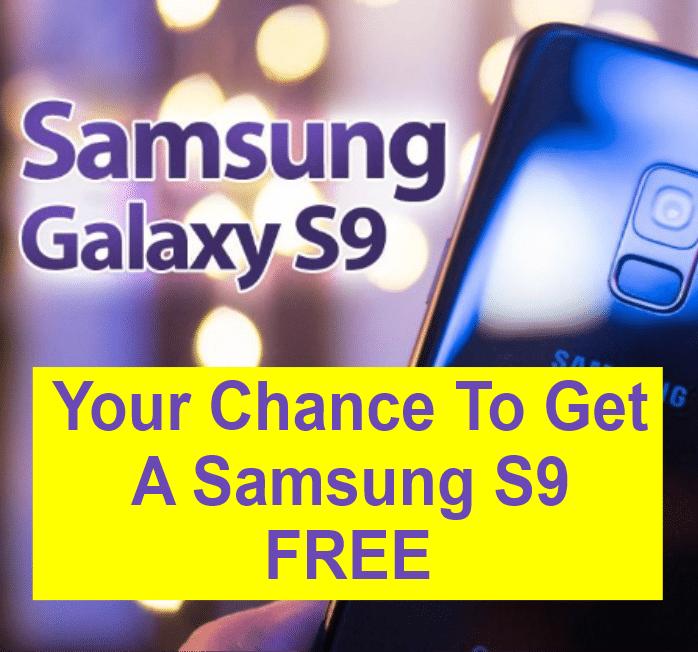 FREE Samsung S9