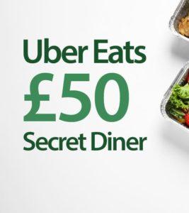 uber eats secret diner
