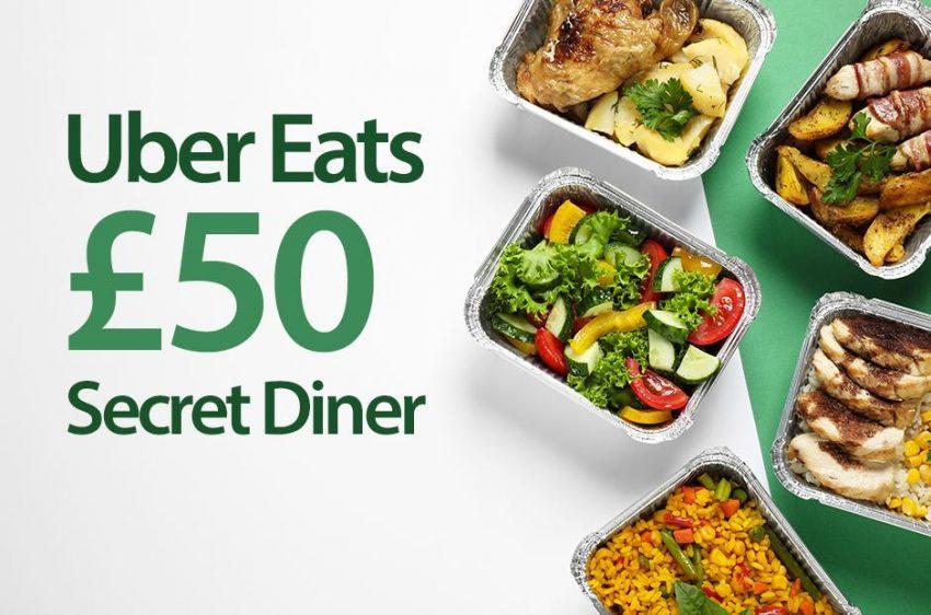 uber eats secret diners wanted