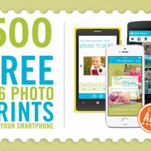 500 Free Photo Prints