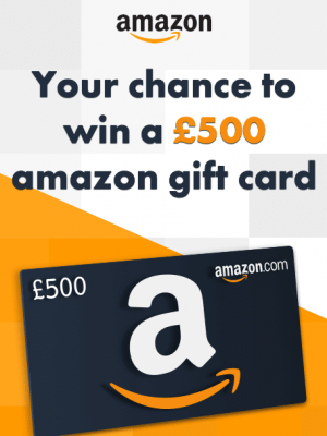 Win A £500 Amazon Giftcard