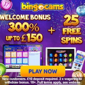 Bingocams FREE Spins