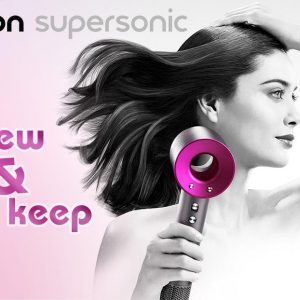 Dyson Supersonic Hairdryer Free
