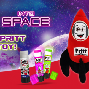 Free Pritt Stick Soft Toy