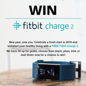 Win a fitbit