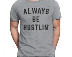 hustle tee